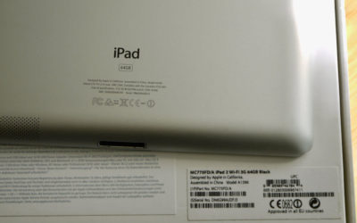 Apple iPad 2 64 GB Wi-Fi 3G black